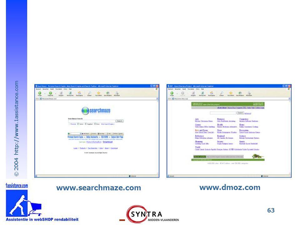 www.searchmaze.com www.dmoz.com