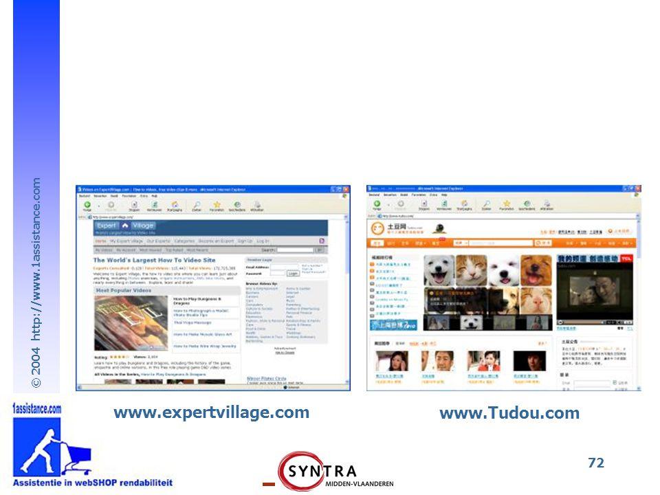 www.expertvillage.com www.Tudou.com
