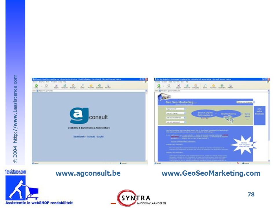 www.agconsult.be www.GeoSeoMarketing.com
