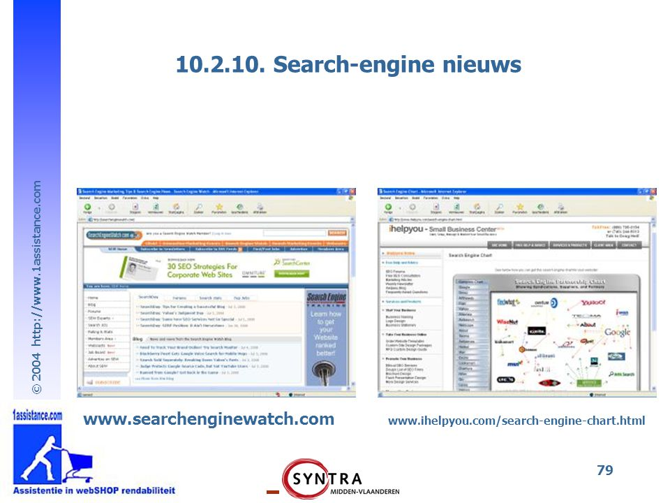 10.2.10. Search-engine nieuws www.searchenginewatch.com