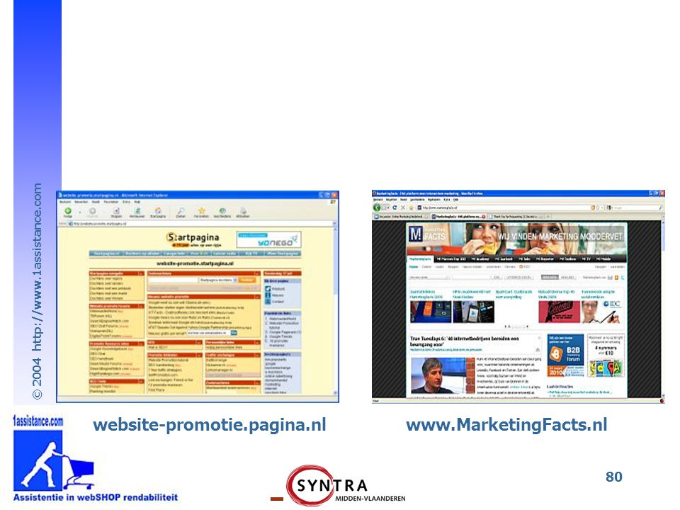 website-promotie.pagina.nl www.MarketingFacts.nl