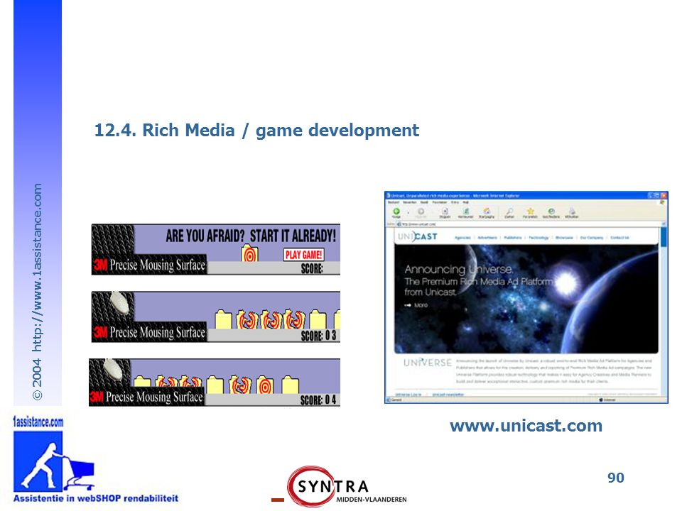 12.4. Rich Media / game development