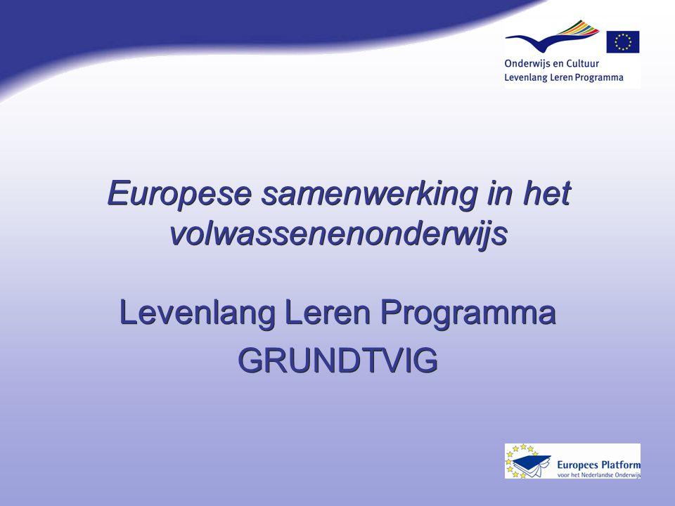 Europese samenwerking in het volwassenenonderwijs