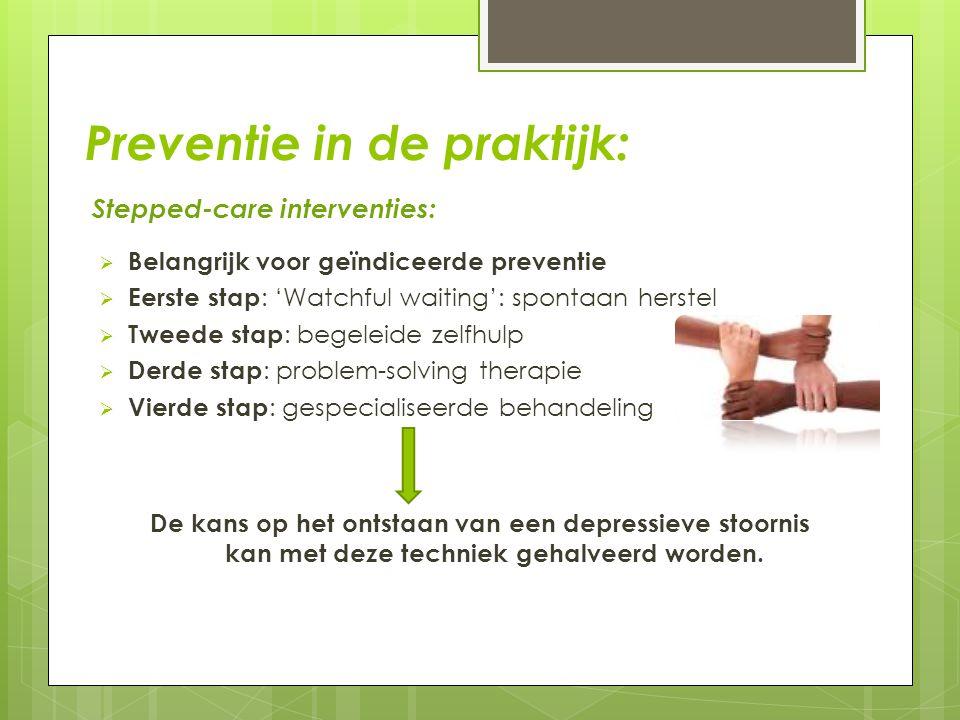 Preventie in de praktijk: