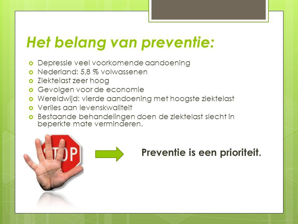 Het belang van preventie: