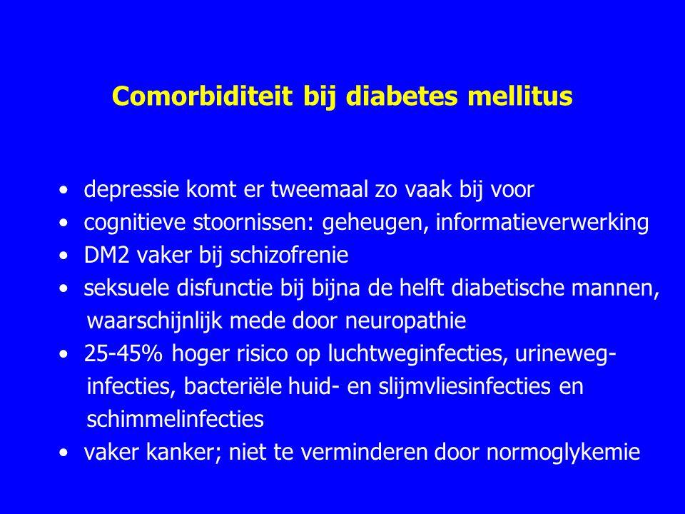 Comorbiditeit bij diabetes mellitus