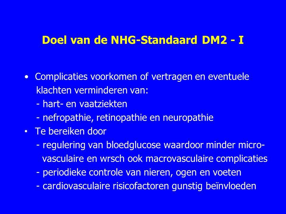 Doel van de NHG-Standaard DM2 - I