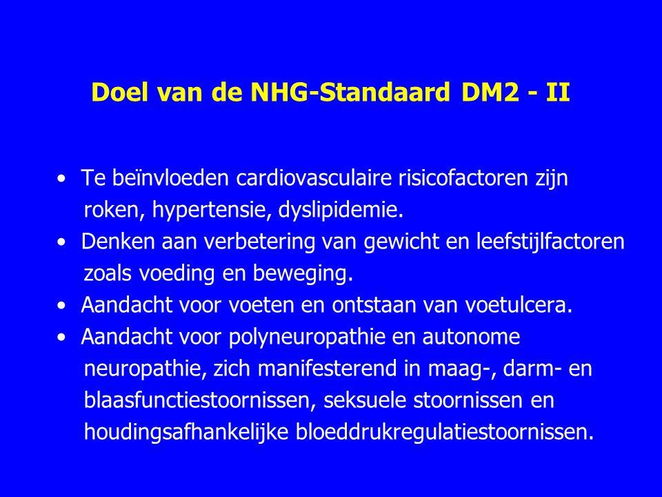 Doel van de NHG-Standaard DM2 - II