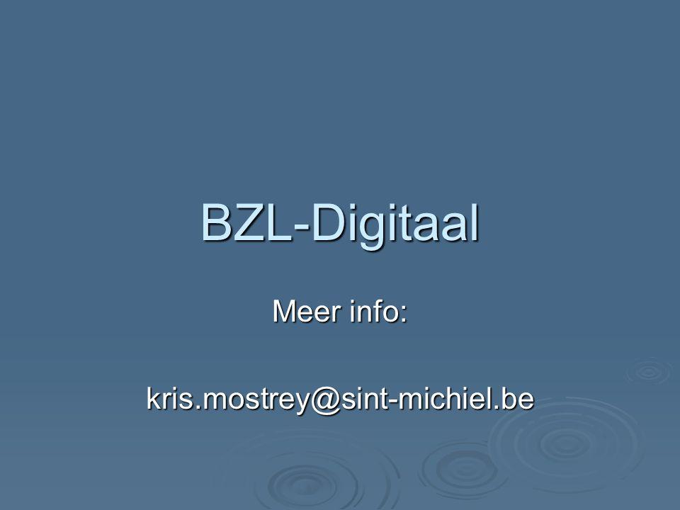 Meer info: kris.mostrey@sint-michiel.be