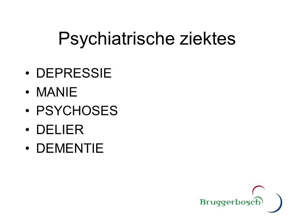 Psychiatrische ziektes