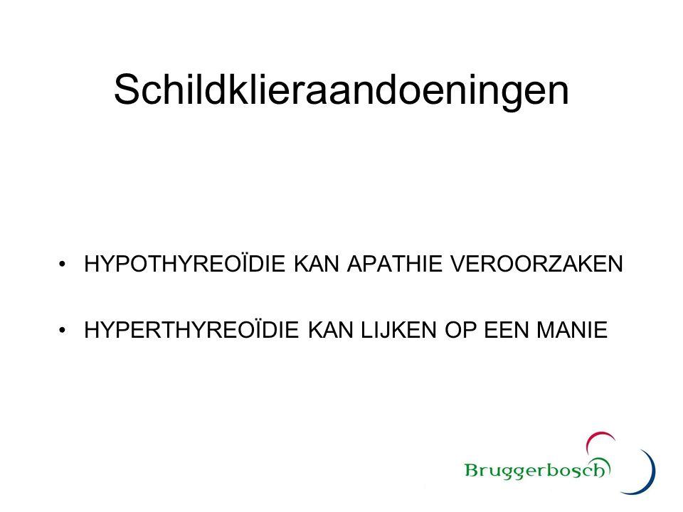Schildklieraandoeningen