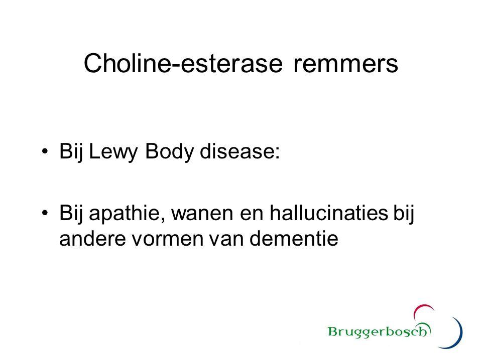 Choline-esterase remmers