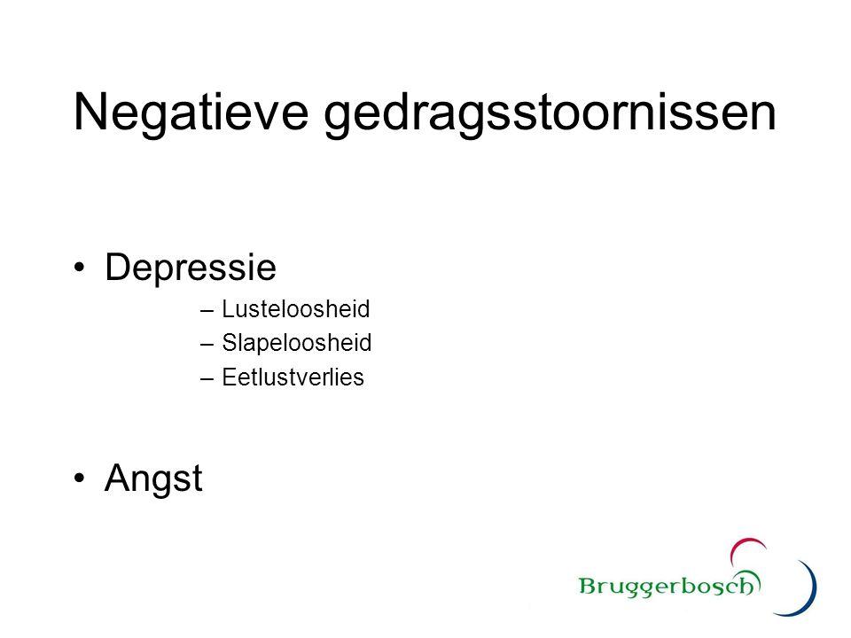 Negatieve gedragsstoornissen