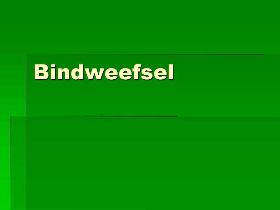 Bindweefsel