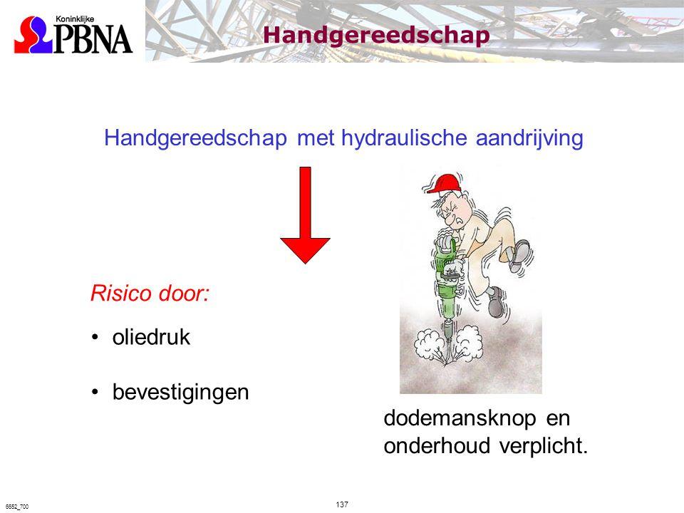 Handgereedschap met hydraulische aandrijving