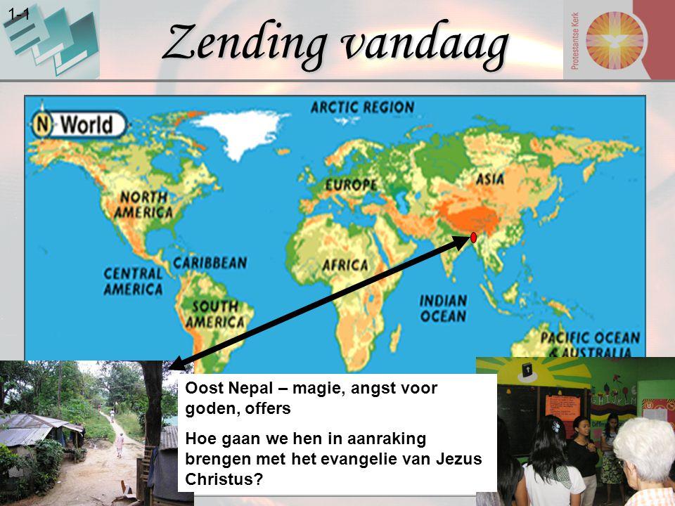 Zending vandaag 1-1 Oost Nepal – magie, angst voor goden, offers