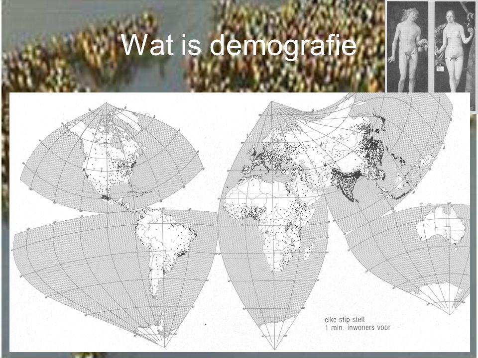 Wat is demografie