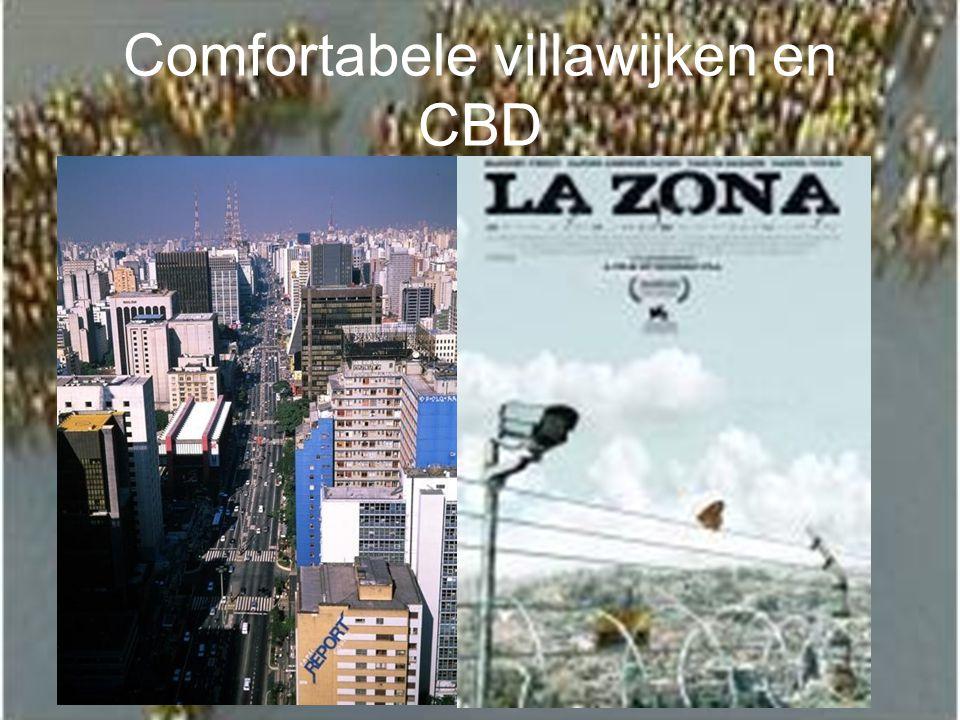 Comfortabele villawijken en CBD