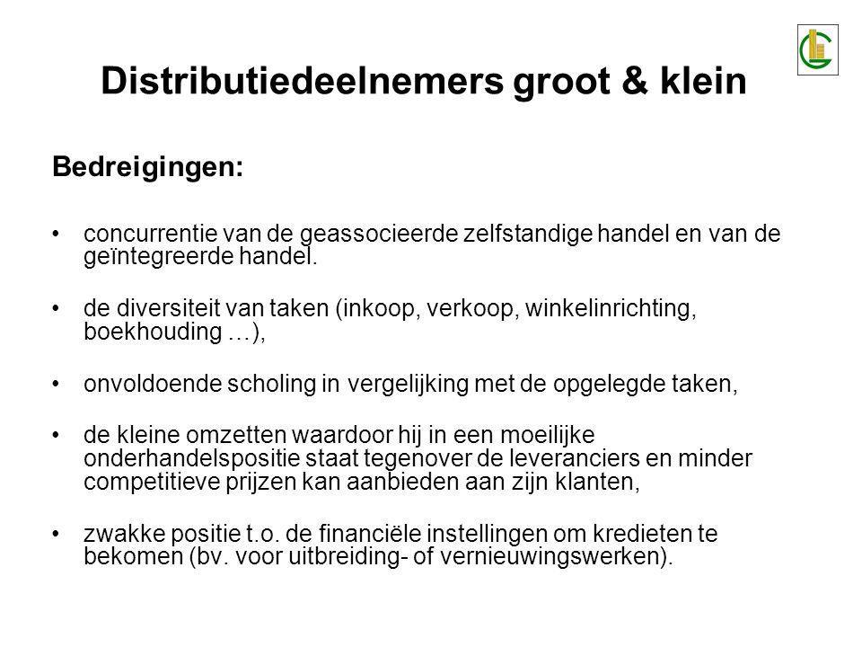 Distributiedeelnemers groot & klein