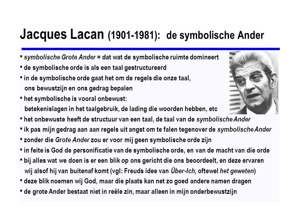 Jacques Lacan (1901-1981): de symbolische Ander
