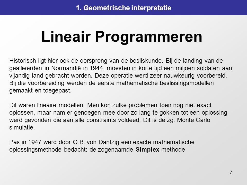 1. Geometrische interpretatie
