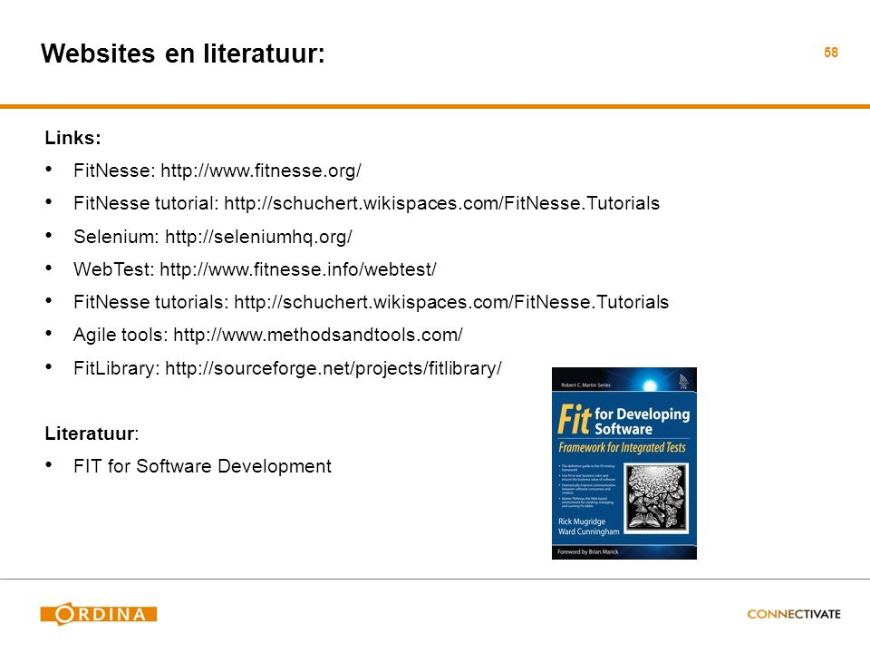 Websites en literatuur: