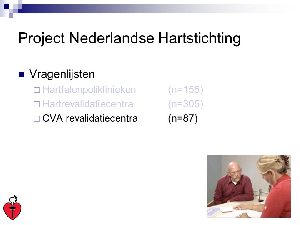 Project Nederlandse Hartstichting