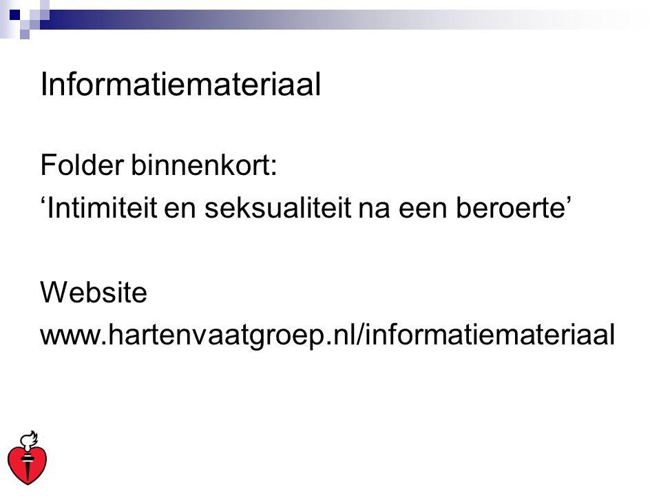 Informatiemateriaal Folder binnenkort: