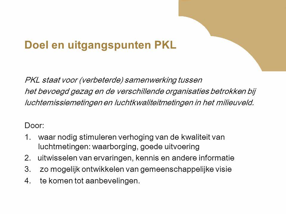 Doel en uitgangspunten PKL