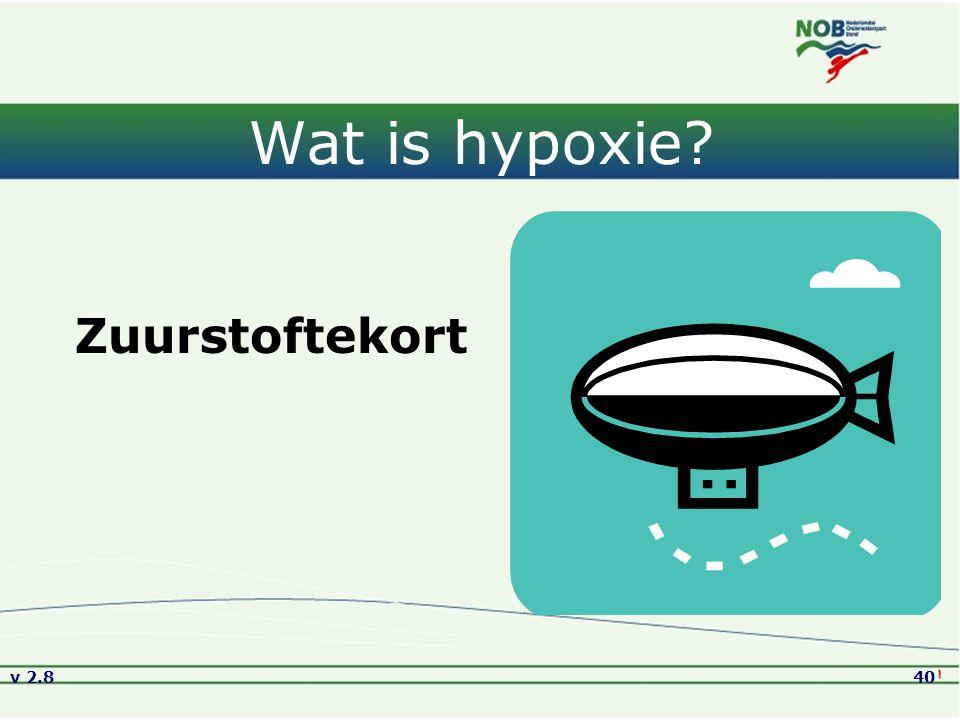 Wat is hypoxie Zuurstoftekort Versie2.8 01-09-2005