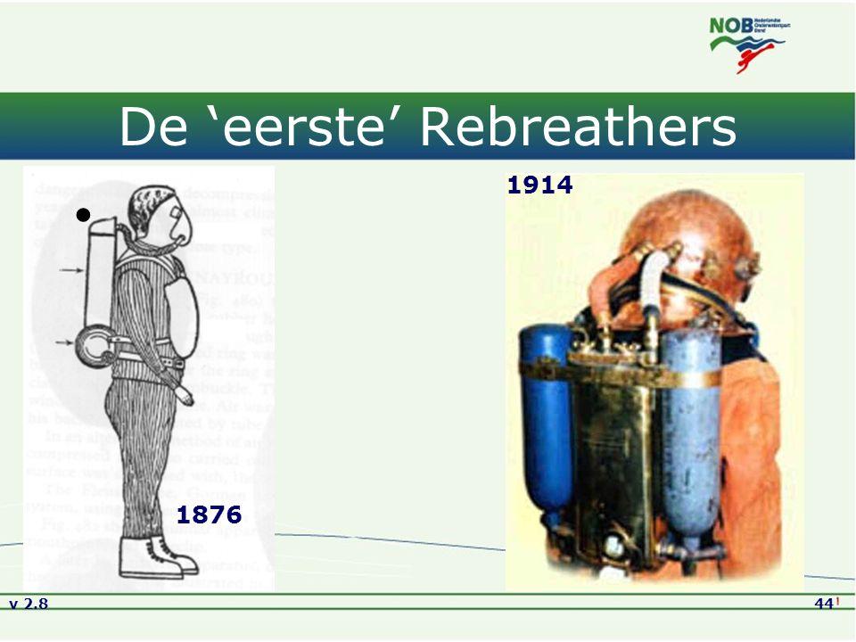 De 'eerste' Rebreathers