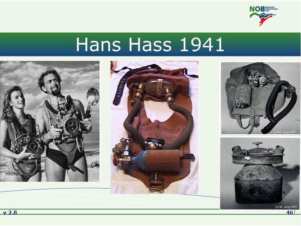 Versie2.8 01-09-2005 Hans Hass 1941 Originele foto's van Hans Hass en zijn Kleintauchgerät v 2.8