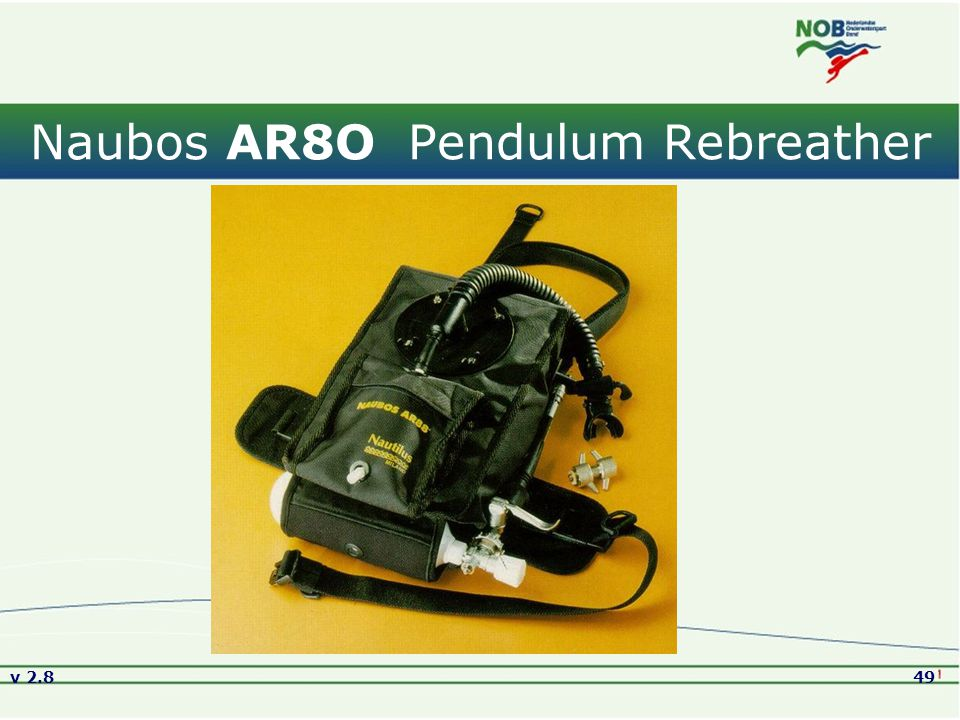 Naubos AR8O Pendulum Rebreather