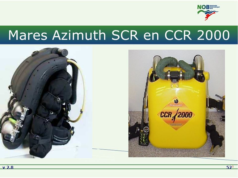 Mares Azimuth SCR en CCR 2000