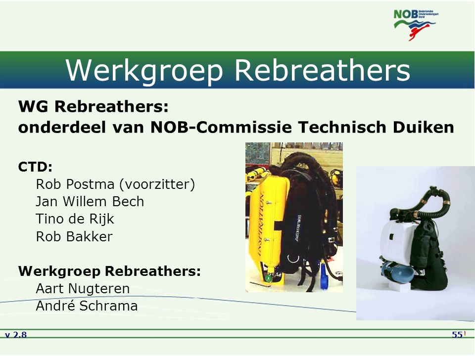 Werkgroep Rebreathers