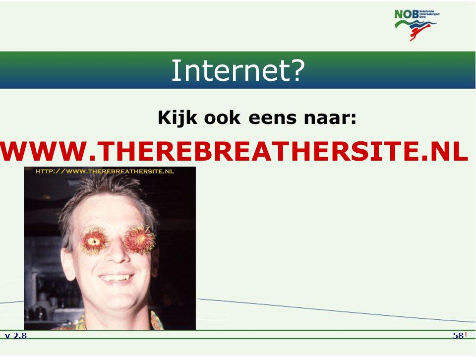 Internet WWW.THEREBREATHERSITE.NL Kijk ook eens naar: