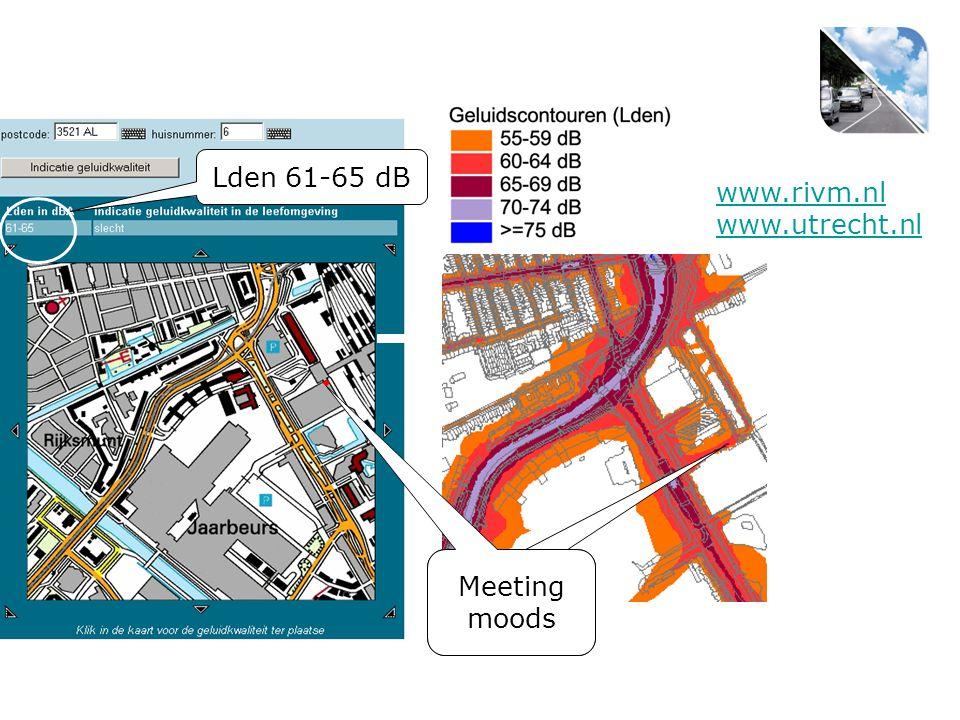 Lden 61-65 dB www.rivm.nl www.utrecht.nl Meeting Moods Meeting moods