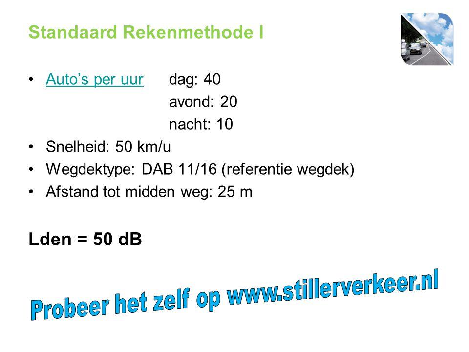 Probeer het zelf op www.stillerverkeer.nl