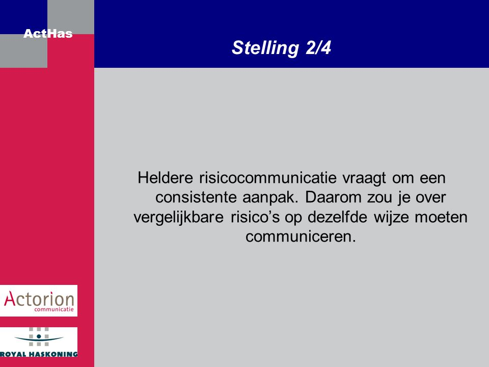 Stelling 2/4