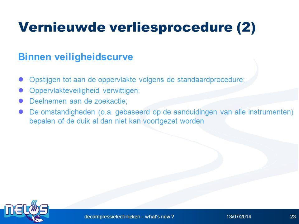 Vernieuwde verliesprocedure (2)