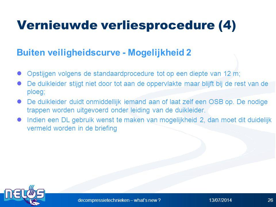 Vernieuwde verliesprocedure (4)
