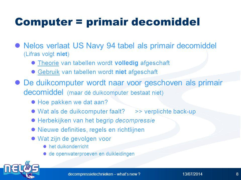 Computer = primair decomiddel