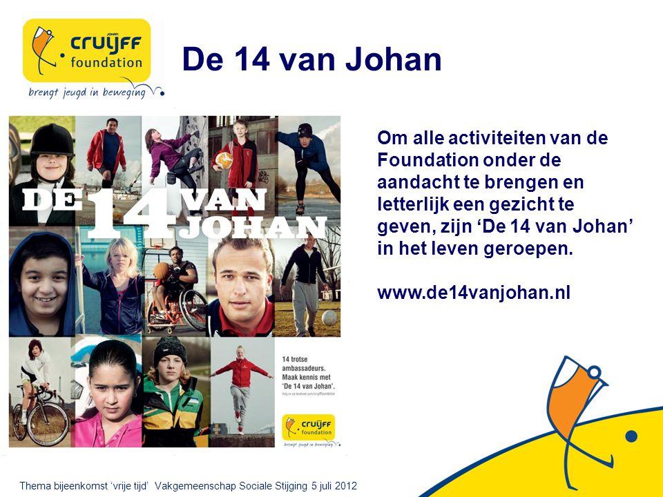 De 14 van Johan