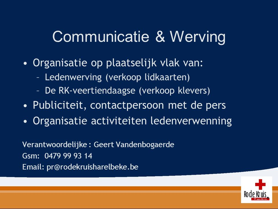 Communicatie & Werving
