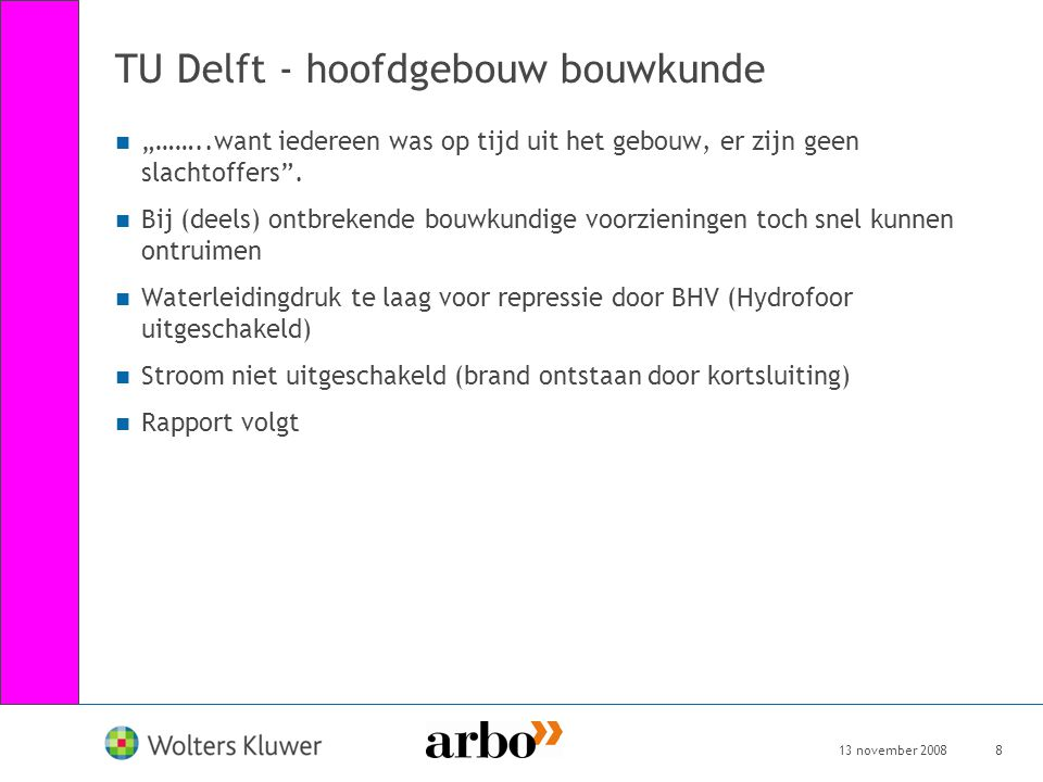 TU Delft - hoofdgebouw bouwkunde