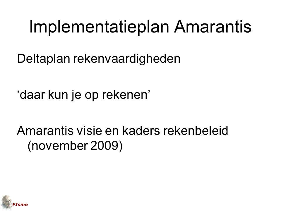 Implementatieplan Amarantis