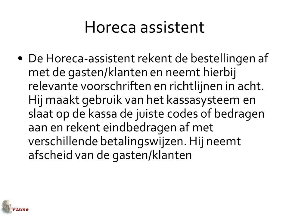 Horeca assistent