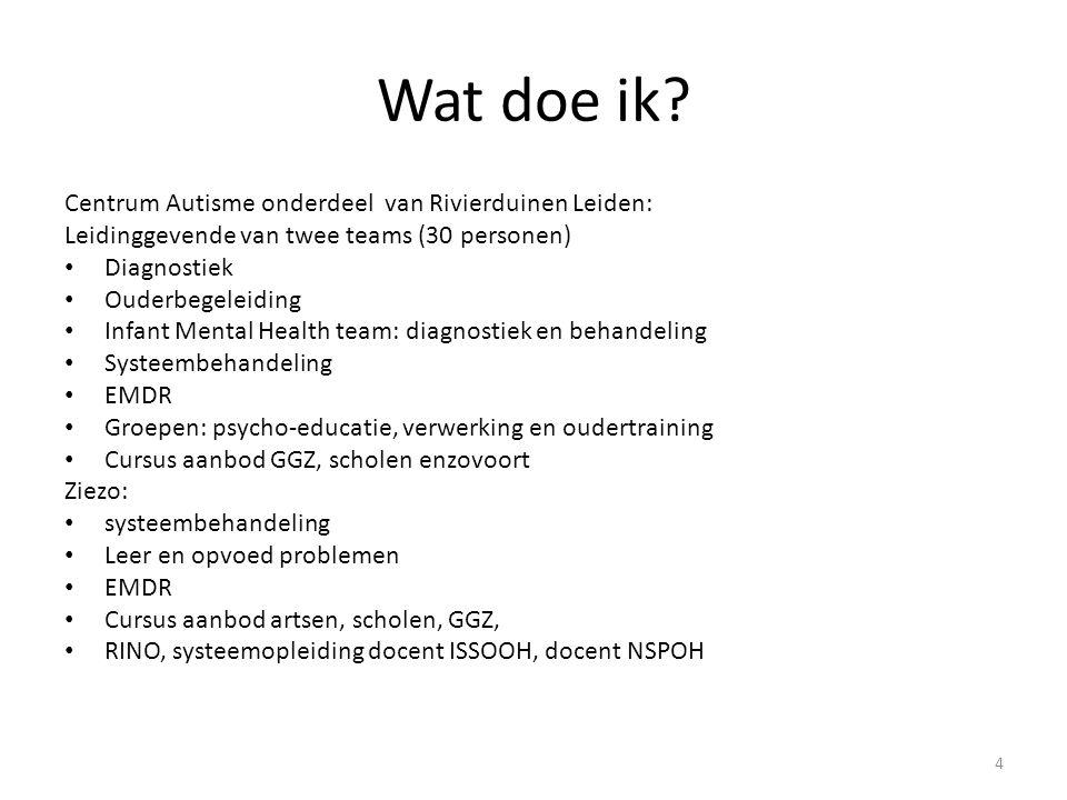 Wat doe ik Centrum Autisme onderdeel van Rivierduinen Leiden: