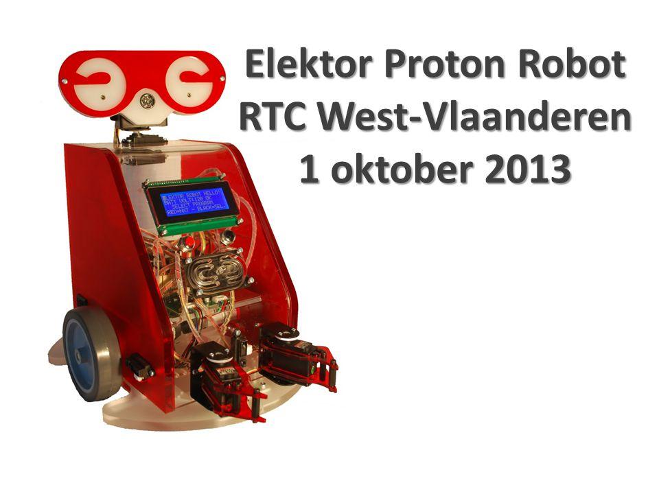 Elektor Proton Robot RTC West-Vlaanderen 1 oktober 2013