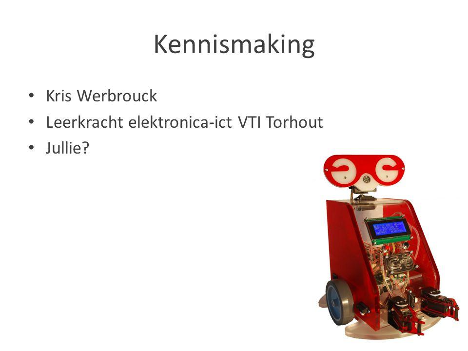 Kennismaking Kris Werbrouck Leerkracht elektronica-ict VTI Torhout